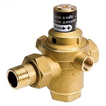 Клапан подпиточный поршневой латунь R150M Ду 15 Ру10 G1/2 ВР/американка Рн=0,5 - 3бар б/маном. с обр. клап. GiacominiR150MY013