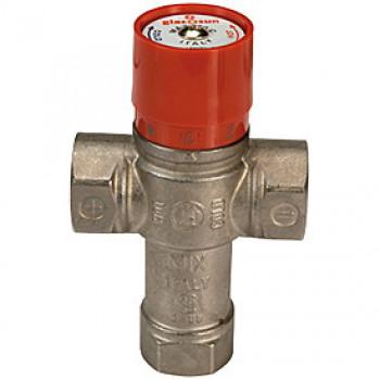 Клапан смесительный термостатический седельный латунь R156 Ду 25 Ру16 G1 ВР Kvs=2.2 60С GiacominiR156X005