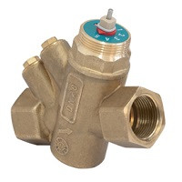 Балансировочный клапан р/р R206AM, без дренажа, Giacomini, Ду25 R206AY055