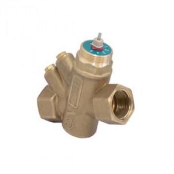 Балансировочный клапан р/р R206AM, без дренажа, Giacomini, Ду25 R206AY065