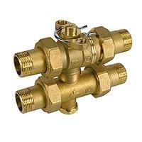 Трехходовой зональный клапан 1