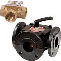 Клапан трехходовой смесительный R297, фланцеый, Giacomini, Ду65 R297Y106