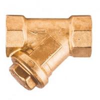Фильтр сетчатый Y-образный латунь Ду 15 Ру30 G1/2 ВР R74A GiacominiR74AY103
