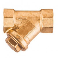 Фильтр сетчатый Y-образный латунь Ду 32 Ру30 G1 1/4 ВР R74A GiacominiR74AY106
