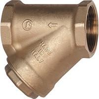 Фильтр магнитный сетчатый Y-образный латунь Ду 20 Ру16 G3/4 ВР R74M GiacominiR74MY004
