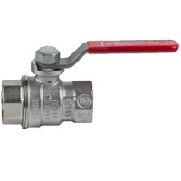 Кран шаровой латунь хром R850 Ду 50 Ру28 ВР полнопроходной рычаг GiacominiR850X028