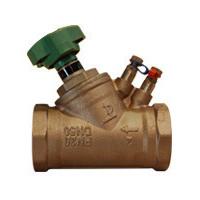 Клапан балансировочный, муфтовый, PN20, DN15, латунь RC2106-0015