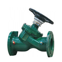 Клапан балансировочный, фланцевый, PN16, DN125, ковкий чугун RC4240-0125