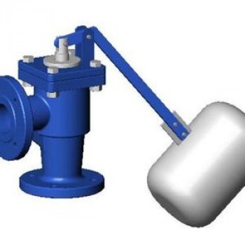 Клапан поплавковый уравновешенный чугун RF3240 Ду 40 Ру10 фл поплавок поплавок сталь нерж в комплекте Тмакс=120 оС TecofiRF3240-0040