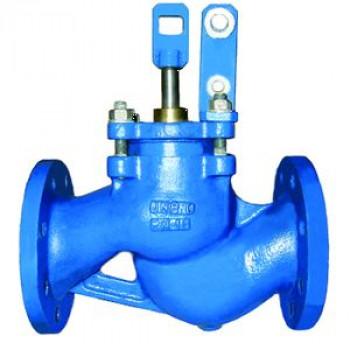 Клапан поплавковый прямой чугун RF3241 Ду 150 Ру16 фл поплавок сталь нерж в комплекте Тмакс=120 оС TecofiRF3241-0150