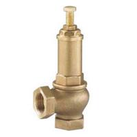 Клапан предохранительный, PN16, 2 ВР, латунь SR1141-0050