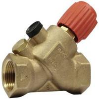 Запорно-измерительный клапан р/р Kombi-S (V5001S), Honeywell, Ду20 V5001SY2020