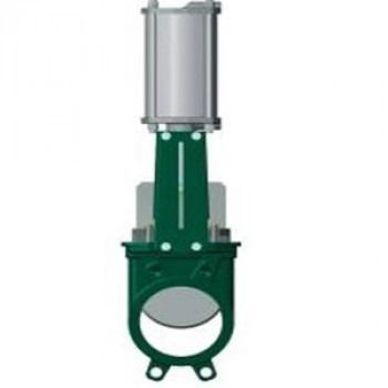 Задвижка шиберная односторонняя чугун VG3400-03NI Ду 250 Ру10 межфл с пн/приводом 2/сторонн уплотнение: нитрил TecofiVG3400-03NI0250