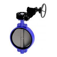 Затвор дисковый поворотный межфланцевый с мех редуктором PN16 DN500 VPE4449-08EP0500