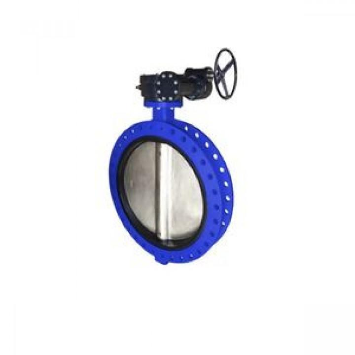 Затвор дисковый поворотный чугун VPE4548-08EP Ду 350 Ру16 межфл с редуктором диск чугун манжета EPDM TecofiVPE4548-08EP0350