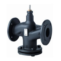 Клапан регулирующий VVF53, Siemens, Ду100, 25 бар VVF53.100-160