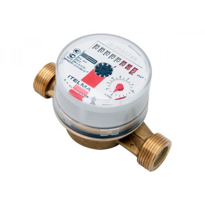 Водосчетчик Itelma для горячей воды L 80, импульсный выход WFW 24.D080