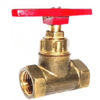 Клапан запорный латунь 15б1п Ду 32 Ру16 ВР прямой ТУ РБ 500059277.015-2000 ЦветлитZW20013