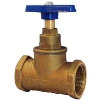 Клапан запорный латунь 15б3р Ду 50 Ру16 ВР/НР прямой ТУ 206-3973235-01-93 ЦветлитZW20020