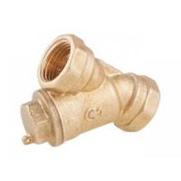 Фильтр сетчатый Y-образный латунь газ Ду 15 Ру16 Тмакс=90 oC G1/2 ВР ГП ЦветлитZW40002