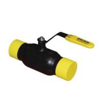 Шаровой стальной кран для газа сварка/сварка с плоской рукояткой, серия 11с10фт 70.002, Broen Ballomax, Ду80 КШГ 11с10фт 70.002.080