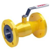 Шаровой стальной кран для газа фланец/фланец с плоской рукояткой, серия 11с10фт 70.003, Broen Ballomax, Ду150 КШГ 11с10фт 70.003.150