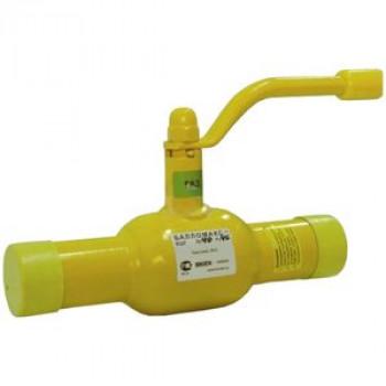 Кран шаровой сталь газ Ballomax КШГ 70.102 Ду 32 Ру40 п/привар BROENКШГ 70.102.032