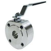 Шаровой стальной кран для газа межфланцевый, компактный, Broen Ballomax, Ду25 КШГ 70.415.025.А