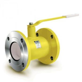 Шаровой стальной кран для газа, фланец/фланец, с рукояткой, КШГ «под задвижку», Broen, Ду65 КШГ 70.423.065