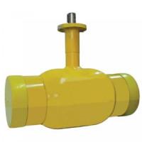 Шаровой стальной кран для газа сварка/сварка, с ИСО-фланцем, Broen Ballomax, Ду150, 25/12 бар КШГ 71.102.150