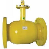Шаровой стальной кран для газа фланец/фланец, с ИСО-фланцем, Broen Ballomaх, Ду150, 16/12 бар КШГ 71.103.150.А