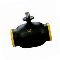 Шаровой стальной кран для газа сварка/сварка, полнопроходной, с ИСО-фланцем, серия 71.112, Broen Ballomax, Ду150, 25/12 бар КШГ 71.112.150.А