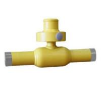 Шаровой стальной кран для газа сварка/сварка полнопроходной, серия 73.112 (с секреткой), Broen Ballomax, Ду40, 40/12 бар КШГ 73.112.040.Б