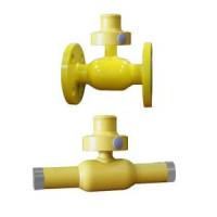 Шаровой стальной кран для газа фланец/фланец полнопроходной, серия 73.113 (с секреткой), Broen Ballomax, Ду32, 40/12 бар КШГ 73.113.032.Б