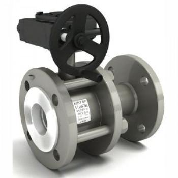 Кран шаровой сталь 11с67п Ду 100 Ру16 фл LDКШ.Р.Ф.100/080.016.Н/П.02