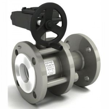 Кран шаровой сталь 11с67п Ду 100 Ру16 фл полнопроходной LDКШ.Р.Ф.100.016.П/П.02