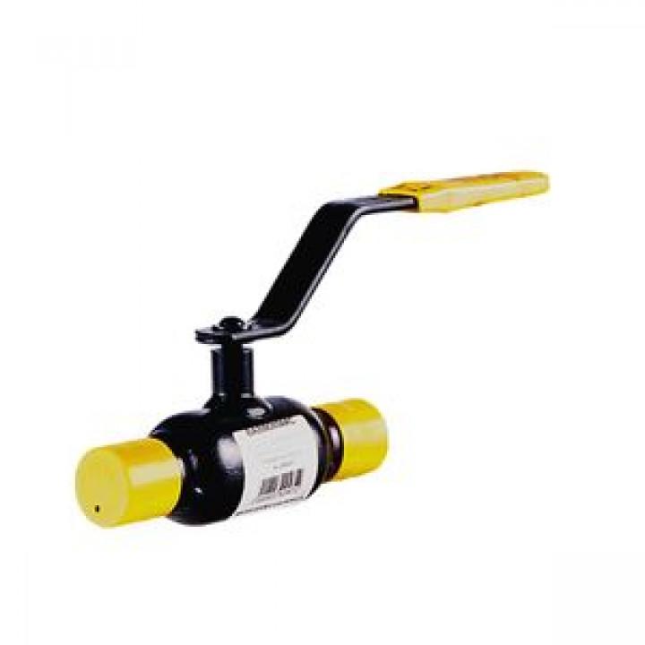 Кран шаровой сталь 11с10фт Ду 40 Ру16 п/привар BROENКШТ 11с10фт 60.002.040