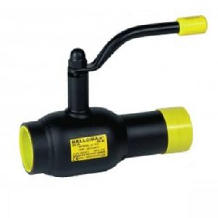 Кран шаровой сталь Ballomax КШТ 60.101 Ду 32 Ру40 ВР/под приварку BROENКШТ 60.101.032