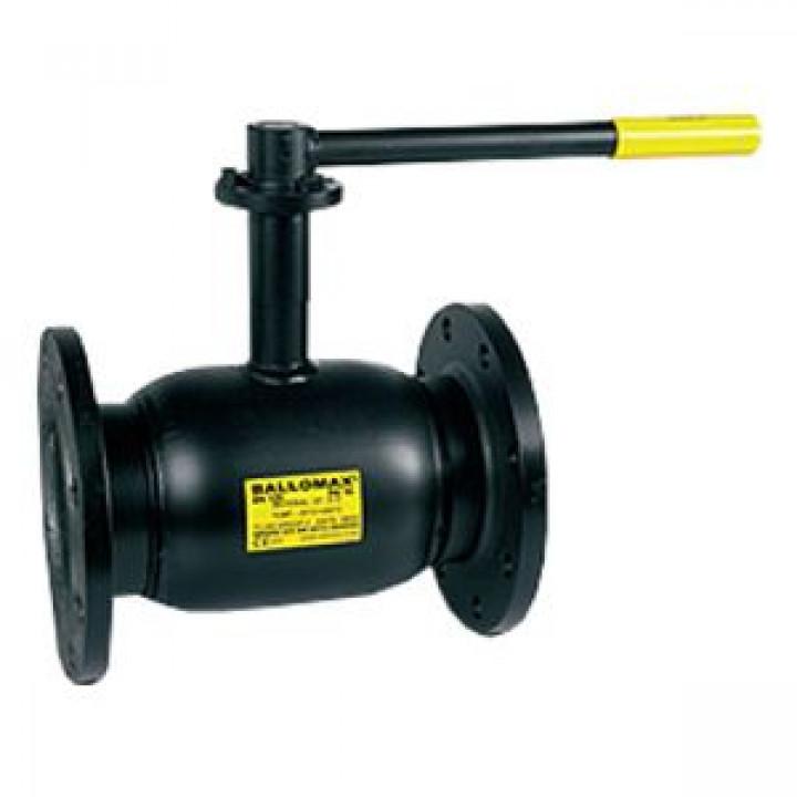 Кран шаровой сталь Ballomax КШТ 60.113 Ду 15 Ру40 фл полнопроходной BROENКШТ 60.113.015