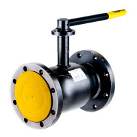 Кран шаровой сталь Ballomax КШТ 61.103 Ду 125 Ру16 фл ISO-фл и рукоятка BROENКШТ 61.103.125