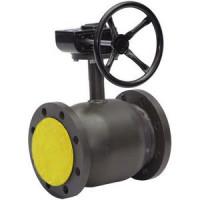 Кран шаровой сталь Ballomax КШТ 61.113 Ду 125 Ру25 фл ISO-фл и рукоятка полнопроходной BROENКШТ 61.113.125