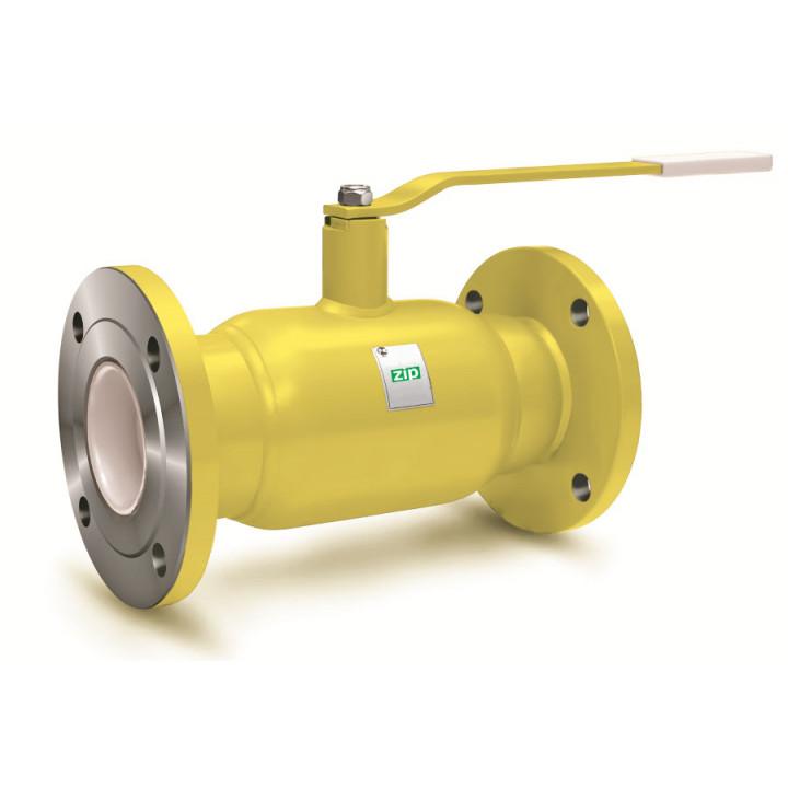 Шаровой стальной кран для газа фланец/фланец полнопроходной, с рукояткой, LD, Ду125, 16 бар КШ.Ц.Ф.GAS.125.016.П/П.02