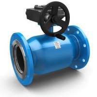 Шаровой стальной кран фланец/фланец полнопроходной Energy с механическим редуктором, LD, Ду300, 16 бар КШЦФ Energy 300.016.03п/п