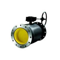 Шаровой стальной кран для газа фланец/фланец, c механическим редуктором Ду 80-500, LD, Ду500, 16 бар КШ.Ц.Ф.Р.500/400.016.Н/П.02