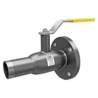 Шаровой стальной кран для жидкости фланец/сварка, с рукояткой, LD, Ду40, 40 бар КШ.Ц.К.040.040.Н/П.02