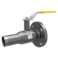 Шаровой стальной кран для газа сварка/фланец, с рукояткой, LD, Ду100, 25 бар КШ.Ц.К.100.025.Н/П.02