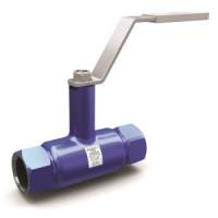 Шаровой стальной кран резьба/резьба полнопроходной, с рукояткой, LD, Ду15, 40 бар КШ.Ц.М.015.040.02полн.