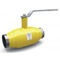Кран шаровой сталь газ КШ.Ц.М Ду 25 Ру40 ВР полнопроходной LDКШ.Ц.М.GAS.025.040.П/П.02