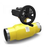 Шаровой стальной кран сварка/сварка Energy с механическим редуктором, LD, Ду300, 16 бар КШЦП Energy 300/250.16.03