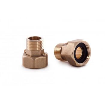 Комплект присоединителей Ду20 с обратным клапаном в комплекте со счетчиками воды и тепла Н00005938